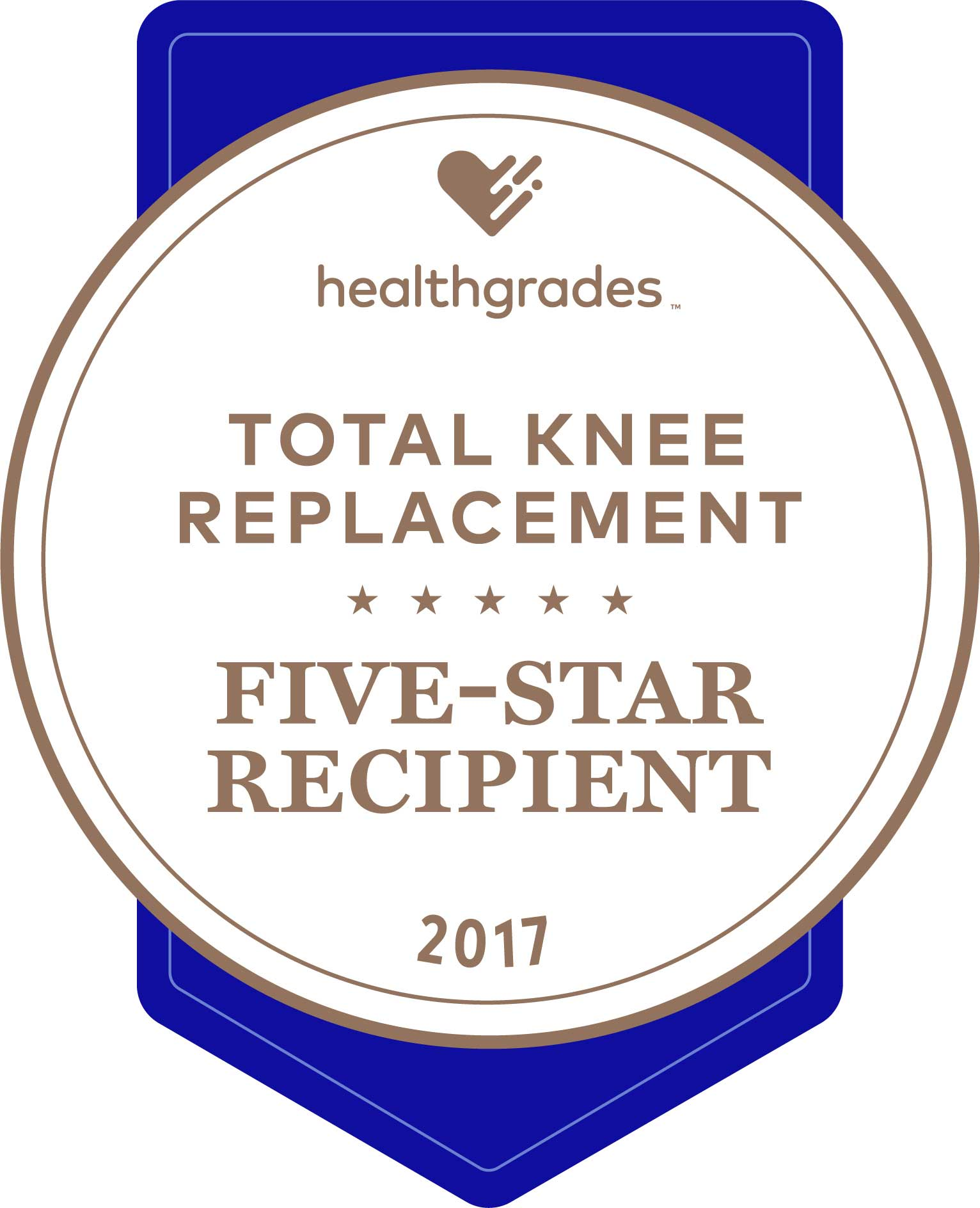 HG five star for total knee replacement